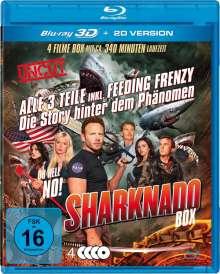 Sharknado 1-3 Deluxe-Box-Edition (3D Blu-ray), 3 Blu-ray Discs