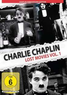 Charlie Chaplin - Lost Movies Vol. 1, DVD