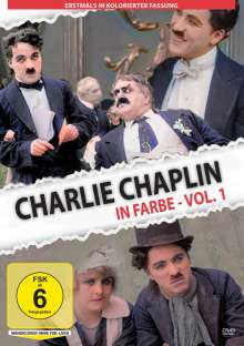 Charlie Chaplin in Farbe Vol. 1, DVD