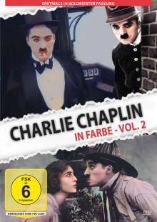 Charlie Chaplin in Farbe Vol. 2, DVD