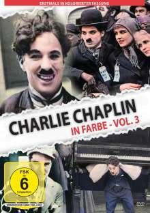 Charlie Chaplin in Farbe Vol. 3, DVD