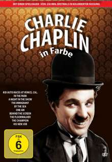 Charlie Chaplin in Farbe - DVD Edition 1, 3 DVDs