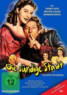 Die sündige Stadt (Der falsche Revisor), DVD