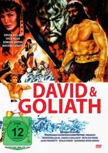 David & Goliath (1960), DVD