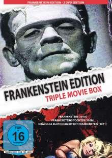 Frankenstein Edition - Triple Movie Box, 2 DVDs