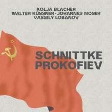 Serge Prokofieff (1891-1953): Sonate für Violine & Klavier Nr.1 op.80, CD