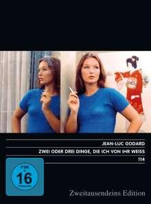 Zwei oder drei Dinge, die ich von ihr weiß..., DVD