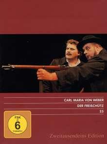 Carl Maria von Weber (1786-1826): Der Freischütz, 2 DVDs