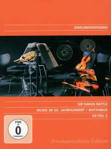 Simon Rattle - Musik im 20.Jh.Vol.2/Rhythmus, DVD