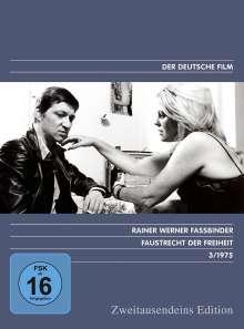 Faustrecht der Freiheit, DVD