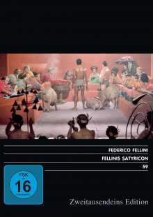 Fellinis Satyricon, DVD