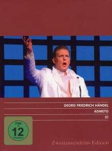 Georg Friedrich Händel (1685-1759): Admeto, 2 DVDs