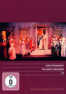 Igor Strawinsky (1882-1971): The Rake's Progress, DVD