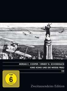 King Kong und die weisse Frau, DVD