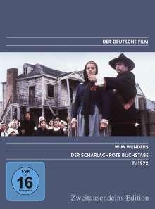Der scharlachrote Buchstabe (1972), DVD