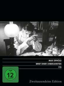 Brief einer Unbekannten, DVD
