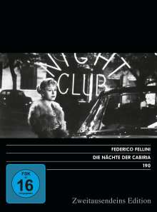 Die Nächte der Cabiria, DVD