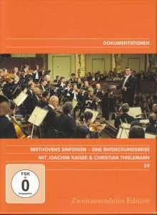 Ludwig van Beethoven (1770-1827): Beethovens Sinfonien - Eine Entdeckungsreise, 9 DVDs