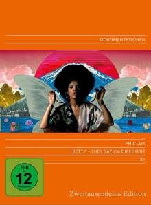 Betty Davis - They say I'm different (OmU), DVD