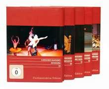 Glanzlichter des russischen Balletts, 5 DVDs