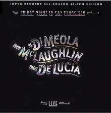 Paco de Lucia, Al Di Meola & John McLaughlin: Friday Night In San Francisco (180g) (45RPM), 2 LPs