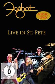 Foghat: Live In St. Pete, DVD