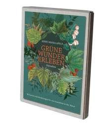 Anne-Maria Apelt: Grüne Wunder erleben - 36 Karten mit Anleitungen für vier Auszeiten in der Natur, Diverse