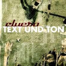 Clueso: Text und Ton, CD