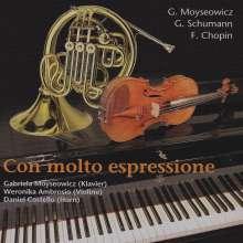 Gabriela Moyseowicz (geb. 1944): Horntrio, Noten
