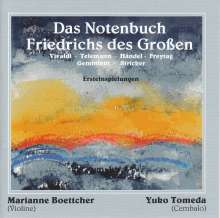 Marianne Boettcher - Das Notenbuch Friedrichs des Großen, CD
