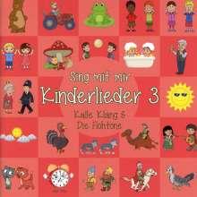 Kalle Klang & Die Flohtöne: Sing mit mir: Kinderlieder 3, CD
