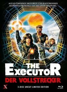 The Executor - Der Vollstrecker  (Blu-ray & DVD im Mediabook), 1 Blu-ray Disc und 1 DVD