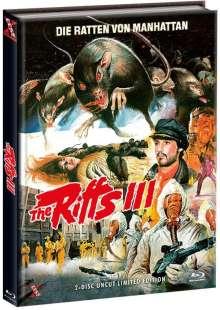 The Riffs 3 - Die Ratten von Manhattan (Blu-ray & DVD im Mediabook), 1 Blu-ray Disc und 1 DVD