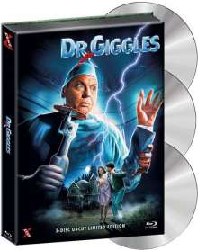 Dr. Giggles (Blu-ray & DVD im wattierten Mediabook), 1 Blu-ray Disc, 1 DVD und 1 CD