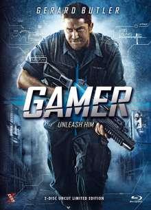 Gamer (Extended Version) (Blu-ray & DVD im Mediabook), 1 Blu-ray Disc und 1 DVD