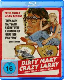 Dirty Mary, Crazy Larry - Kesse Mary, Irrer Larry (Blu-ray), Blu-ray Disc