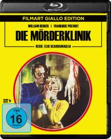 Die Mörderklinik (Blu-ray), Blu-ray Disc