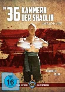 Die 36 Kammern der Shaolin (Blu-ray & DVD), Blu-ray Disc