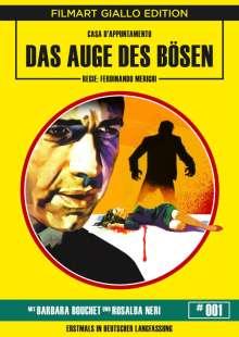 Das Auge des Bösen, DVD