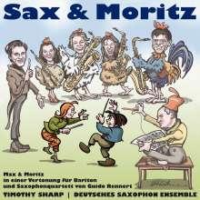 Deutsches Saxophon Ensemble - Sax & Moritz, CD