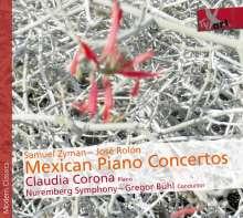 Claudia Corona - Mexican Piano Concertos, CD