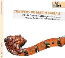Jakob David Rattinger - L'Univers de Marin Marais, CD