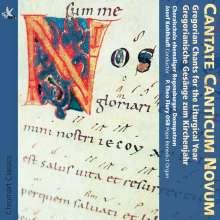 Cantate Canticum Novum - Gregorianische Gesänge zum Kirchenjahr, CD
