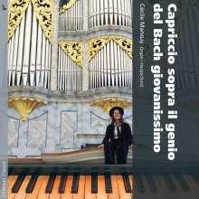 Cecile Mansuy - Capriccio sopra il genio del Bach giovanissimo, CD