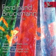 Ferdinand Bruckmann (geb. 1930): Kammermusik, CD