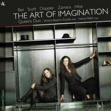 Queens Duo - The Art of Imagination (Musik für Flöte & Harfe), CD