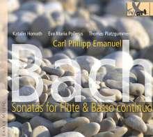 Carl Philipp Emanuel Bach (1714-1788): Flötensonaten Wq.84,123,124,127-129,131,133, CD