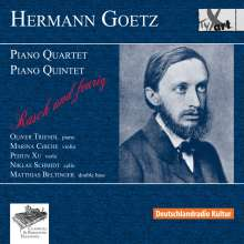 Hermann Goetz (1840-1876): Klavierquintett op.16, CD