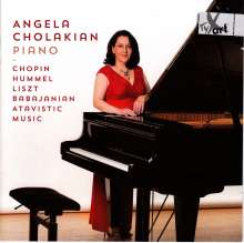 Angela Cholakian, Klavier, CD