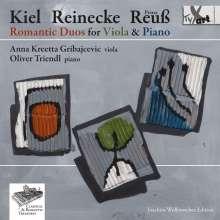 Heinrich XXIV. Reuß zu Köstritz (1855-1910): Sonate für Viola & Klavier G-Dur op.22, CD
